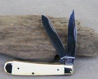 Bulldog Brand Mastodon Ivory Presentation Trapper Knife