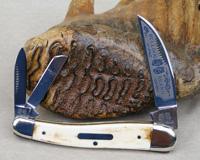 Bulldog Brand Bark Ivory Mastodon Ivory Viking Whittler Knife