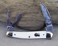 Bulldog Brand Mastodon Ivory Seductress Whittler Knife