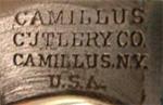 Camillus four line tang stamp