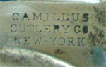 Camillus three line tang stamp