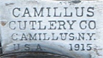 Camillus pre-20s dated tang stamp