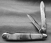 Cattaraugus 24884 Easy Open Jack Knife