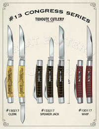 Great Eastern Congress Knife Assortment