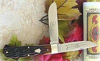 2006 Great Eastern Amber Horse Cut Bone