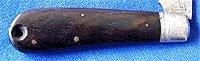 Remington Cocobolo Knife Handle Scales