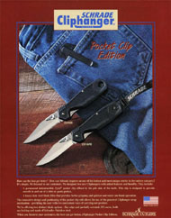 Cliphanger Series Knives