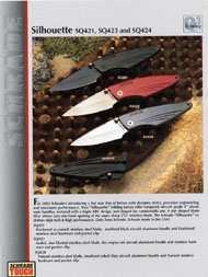 Silhouette Series Knives
