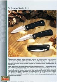 Schrade Switch-It Knives