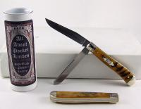 2010 AAPK Oiled Interior Oiled Rams Horn Knife