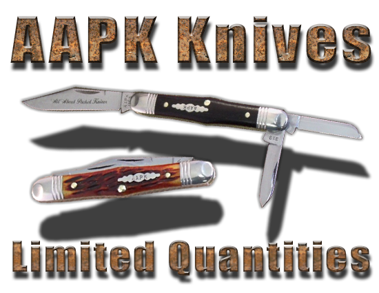 AAPK Brand Pocket Knives