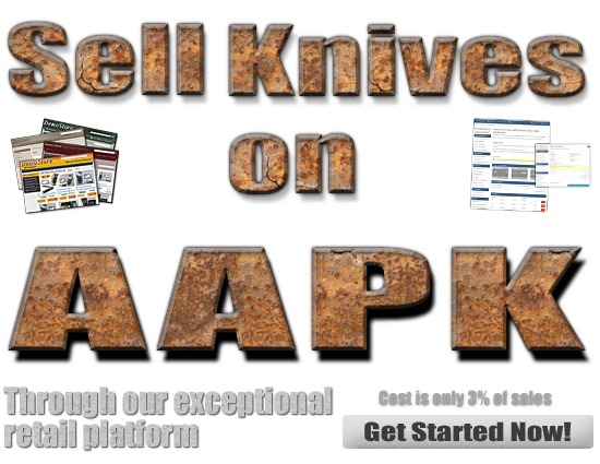 Sell Knives at AAPK