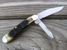 GEC #561210 Dogleg Jack Antique Weave Bone B