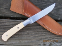 Ralph Smith  Camp Knife Mammouth Ivory B
